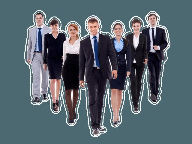 Business team walking forward13